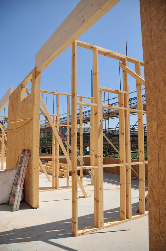 Timber frame at the Adapt Enterprise Centre Courtesy Adapt