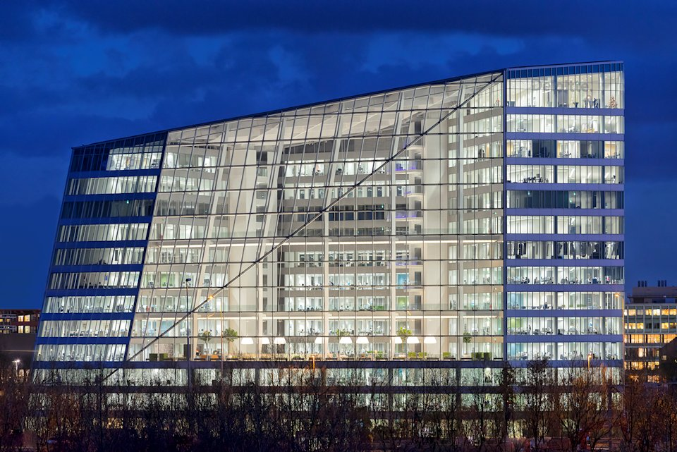 OVG Real Estate's The Edge, Amsterdam, shortlisted under the new offices category.