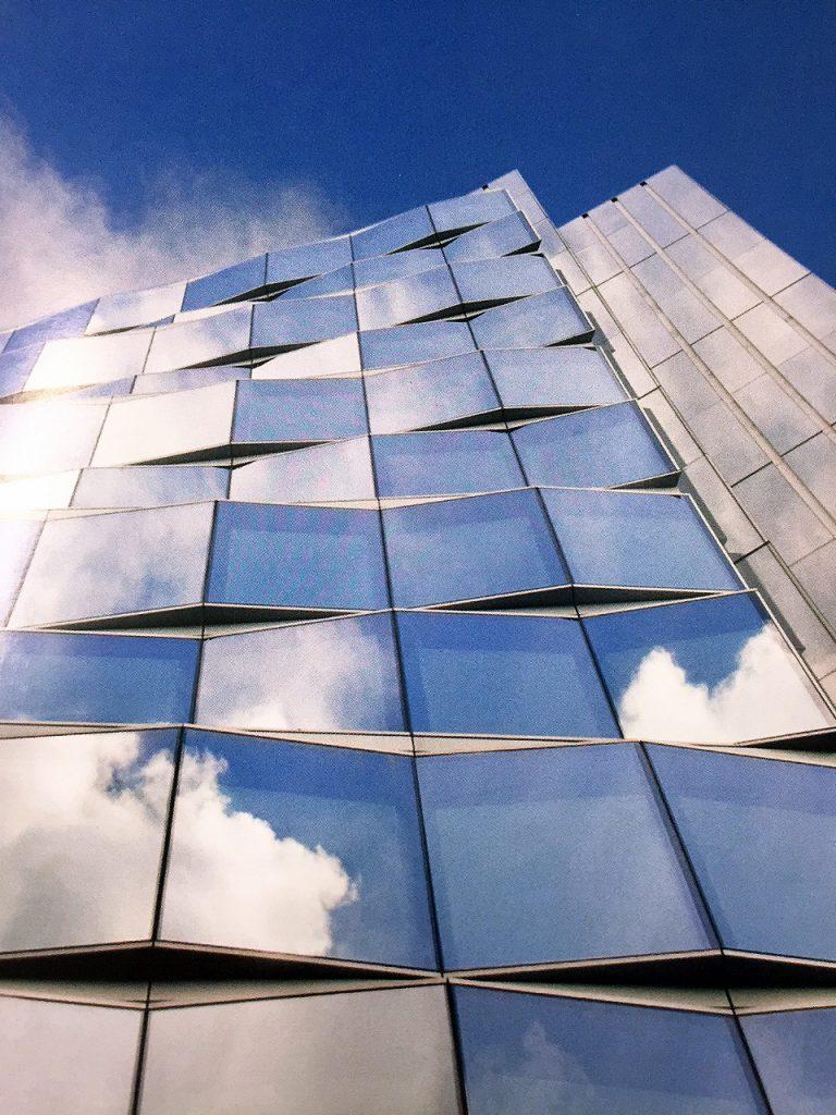 Facade of New Fetter Lane building