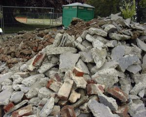Photo of rubble
