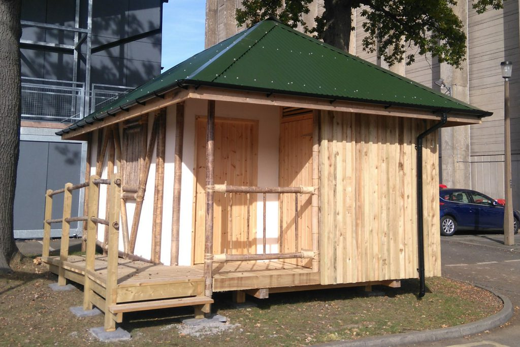 Humanitarian Shelter Comes to BRE Innovation Park