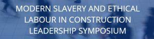Tackling Modern Slavery in Construction