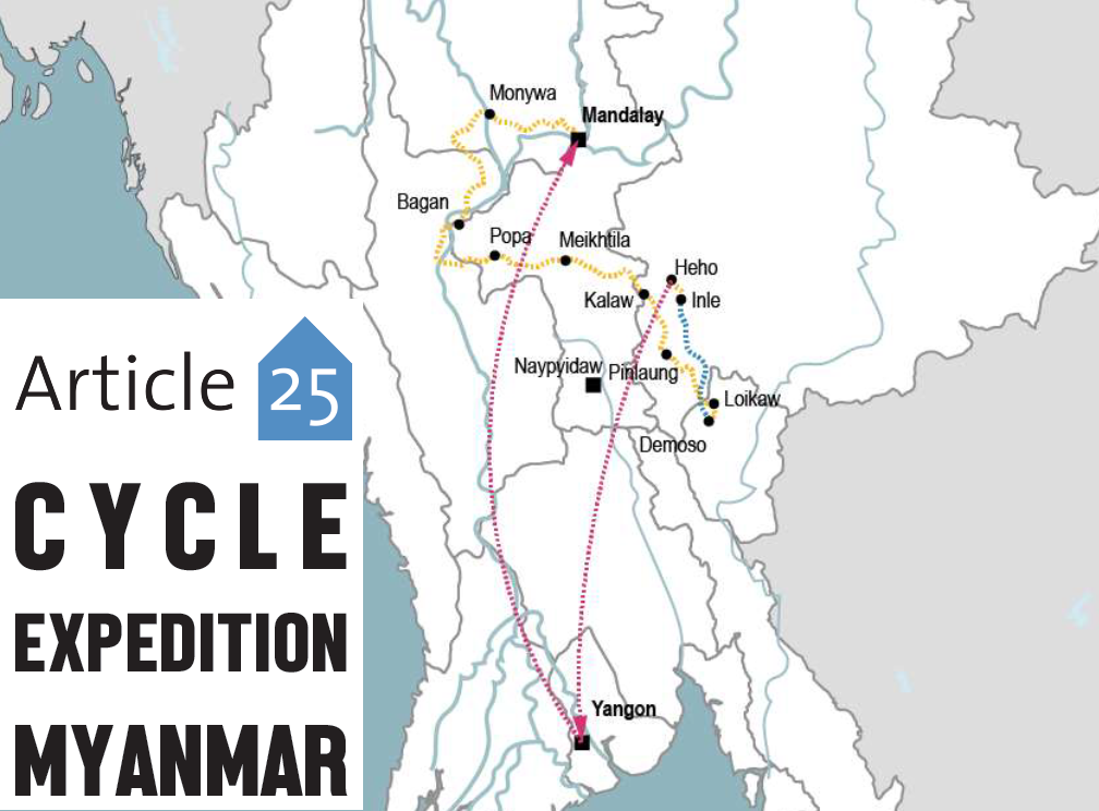 Cycling for Healthcare Buildings in Myanmar – a project for Article 25 and the BRE Trust