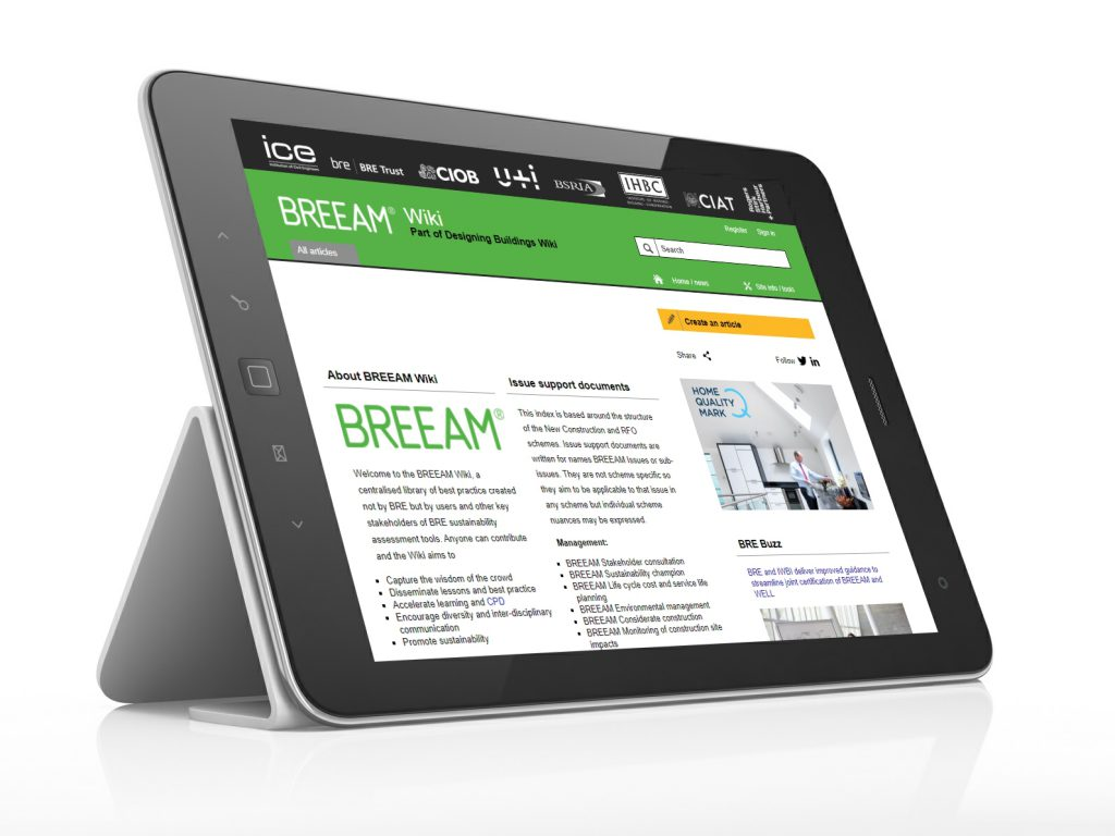 A breakthrough in sharing best practice with the new BREEAM Wiki