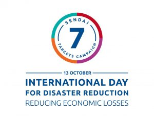 International Day for Disaster Risk Reduction 2018:  – QSAND supporting the reduction in direct disaster economic losses